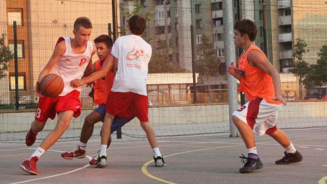 Džanan Musa, igrač KK Cedevita i učesnik Sportskih igara mladih