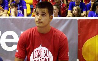 Sanin Čampara, igrač BC Andorra i učesnik Sportskih igara mladih