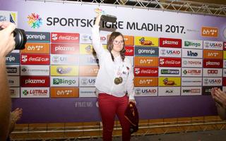 Edna Šunjić, Mlada Ambasadorica Sportskih igara mladih 2017.