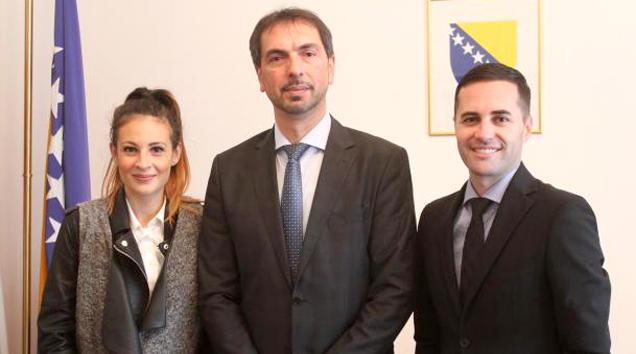 Predsjednik FBiH Marinko Čavara primio predstavnike Igara
