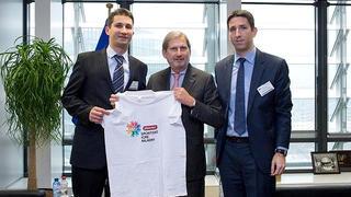 Johannes Hahn postaje Ambasador Sportskih Igara mladih