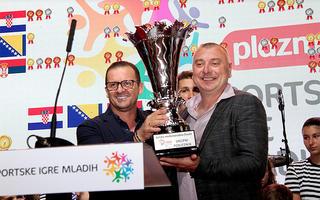 Svečanom ceremonijom na splitskoj rivi završeno Međunarodno finale Sportskih igara mladih