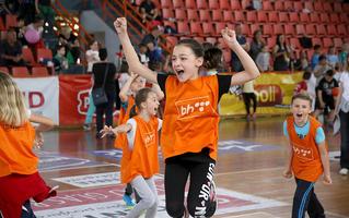 Preko 3.000 dječijih osmijeha obilježilo početak BH Telecom Sportskih igara mladih