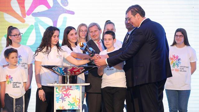 Johanes Hahn imenovan za ambasadora Sportskih igara mladih