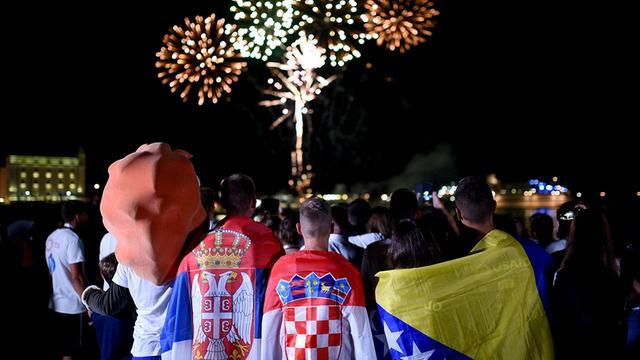 Spektakularnim vatrometom zatvoreno Međunarodno finale Sportskih igara mladih