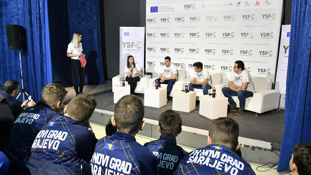Youth Sports Fair Chance: Druženje malih i velikih sportista s ciljem prevencije nasilja, diskriminacije i rasizma u sportu