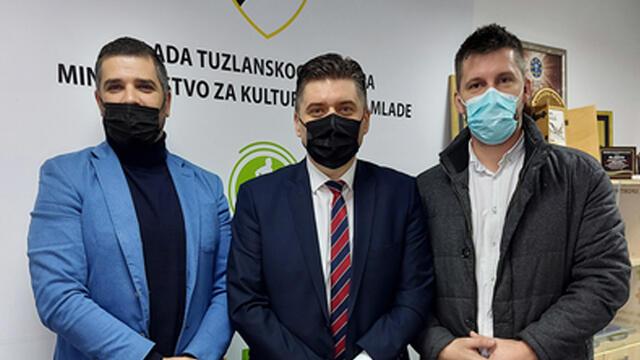 Ministarstvo za kulturu, sport i mlade Tuzlanskog kantona partner SIM-a 2021.