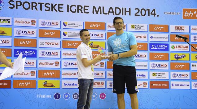 Mirza Teletović trenirao sa učesnicima Velikog finala