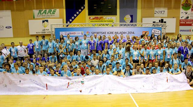 Smijeh, rođendani, medalje i prve simpatije obilježili BH Telecom Sportske igre mladih