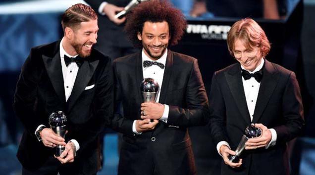 Luka Modrić izabran u najbolju ekipu godine u izboru FIFA-e