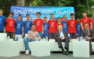 Press #Gosti gdin. Ivica Osim i Vedad Ibišević