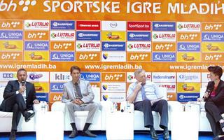 Press #Gosti gdin. Ivica Osim i Predrag Mijatović