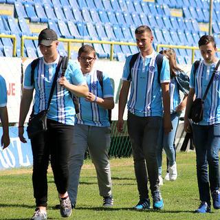[06.09.2017.] Svi na jednom mjestu 7: FK Željezničar i USAID obradovali učenike Zavoda Mjedenica