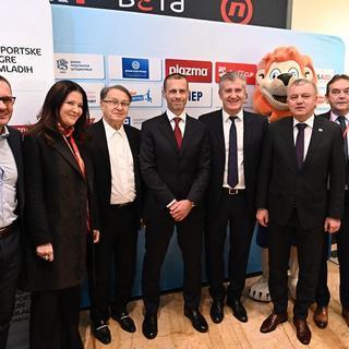 Predsjednik UEFA-e Aleksander Čeferin novi ambasador Sportskih igara mladih